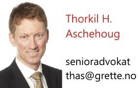 Thorkil Howlid Aschehoug - senioradvokat i Grette